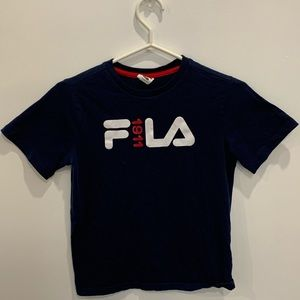 Size 10-12 kids large baby tee by Fila 1991 vintage - perfect condition